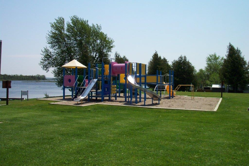 playground at beach