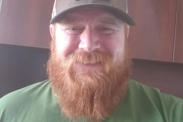 Ryan Foss, Manager of Maintenance at Parkbridge, with his signature smile and red beard